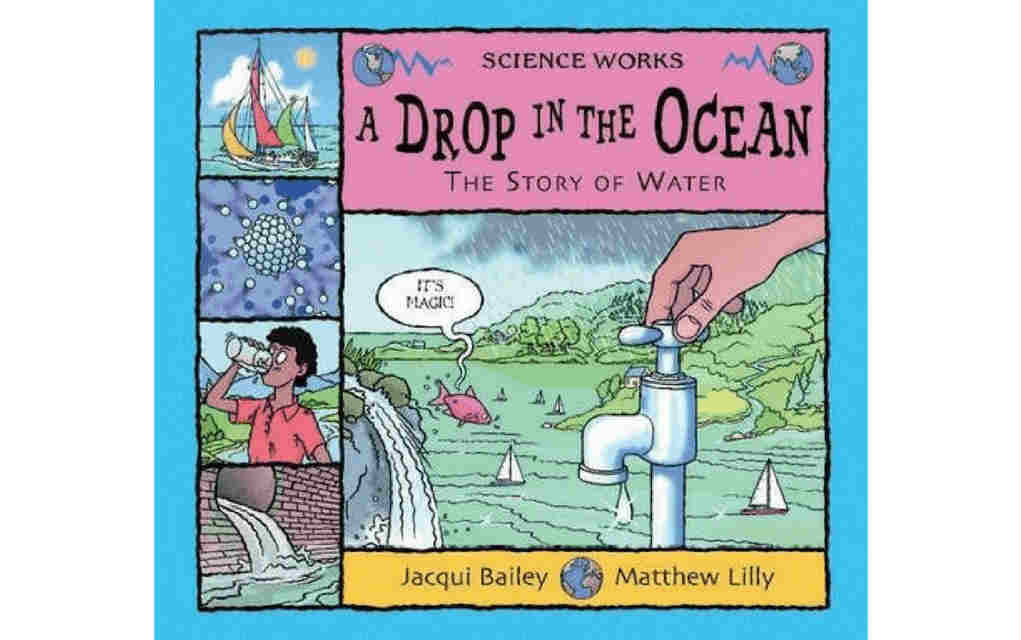 Learn about nature with A Drop in the Ocean book