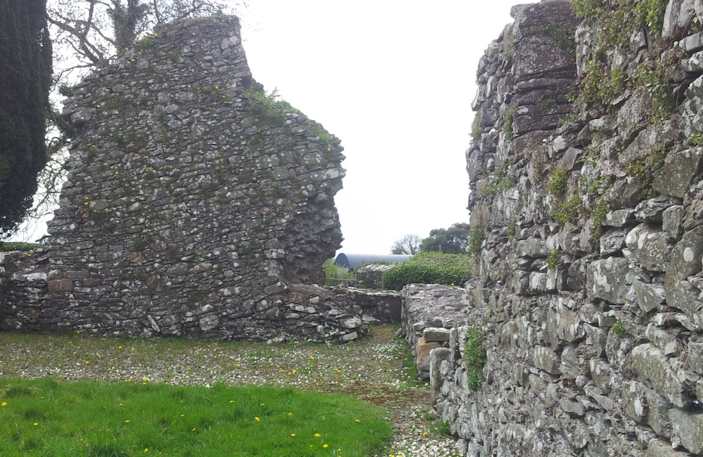 The jumping church wall Mythical places to visit in Ireland horrible histories in Ireland