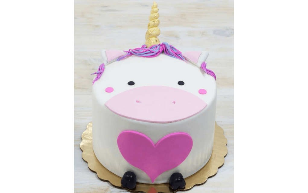 Unicorn cake ideas single tier unicorn cake