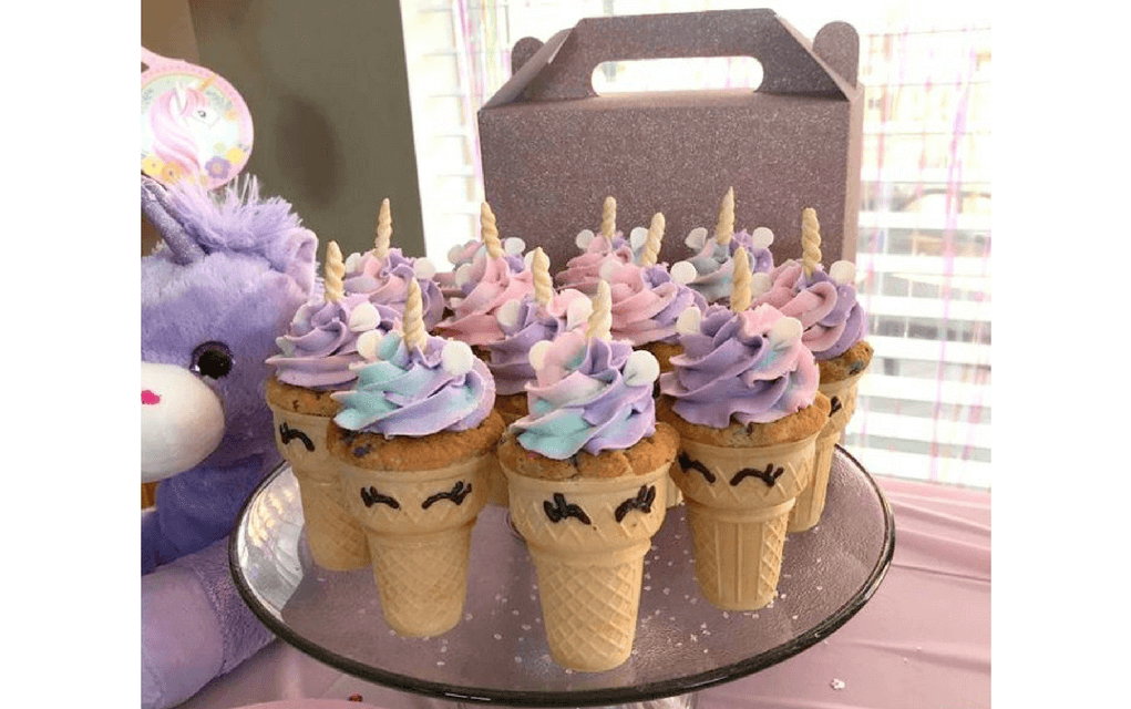 Unicorn Cake Ideas Cupcake Cones