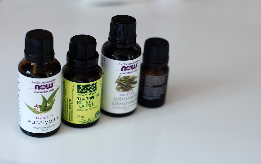 tips to remove common odours essential oils