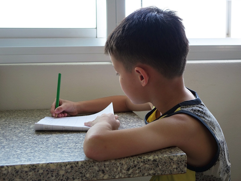 how parents can improve thier child's writing skills