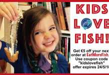 kids love fish gannet fish mongers Eat More Fish campaign save money on your fish orders