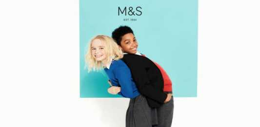 M&S schoolwear essentials for starting school
