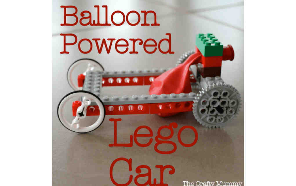 LEGO instructions for balloon car