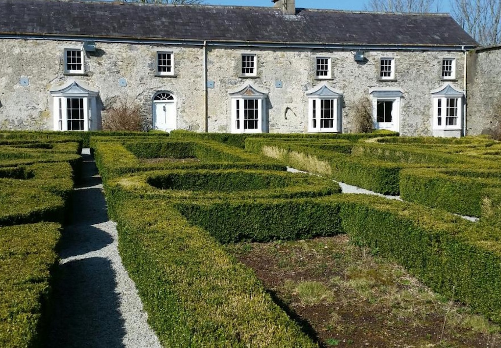maze at Doneraile Wildlife Park Mazes in Ireland