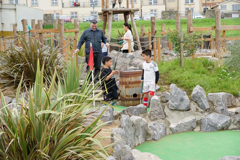 Places to Play Mini Golf and Pitch and Putt in Ireland Bundoran Adventure Park Donegal