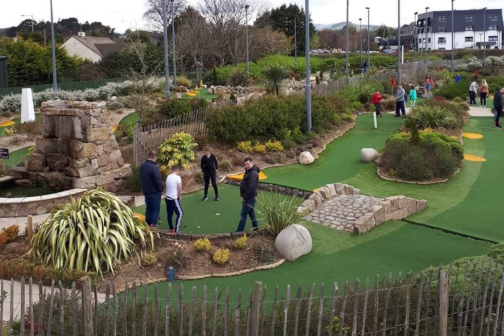 Places to Play Mini Golf and Pitch and Putt in Ireland Golf Centre Newcastle Co Down