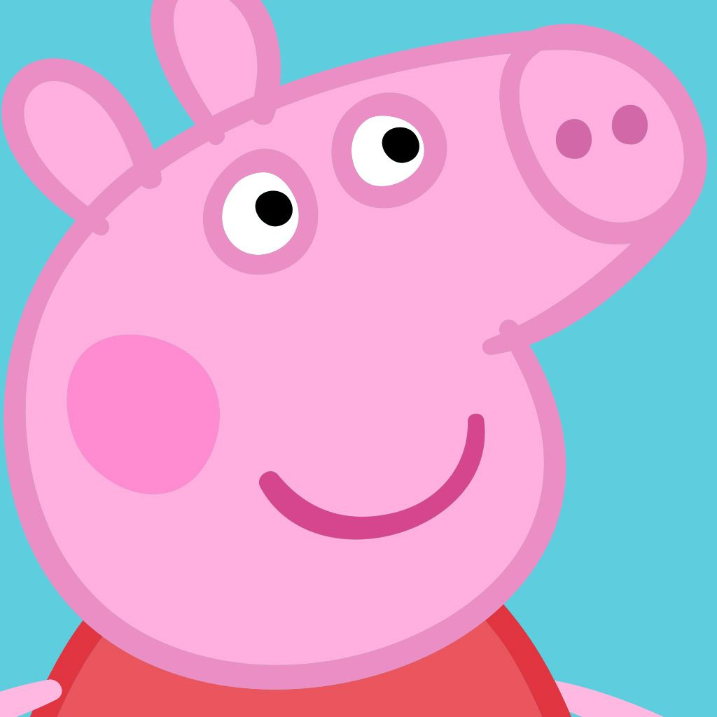 Aargh! Front Facing Face of Peppa Pig Revealed - She is a