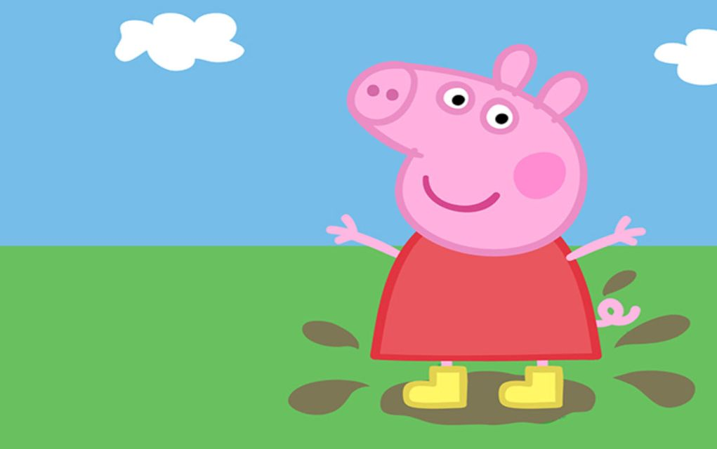 Aargh Front Facing Face Of Peppa Pig Revealed She Is A Horror