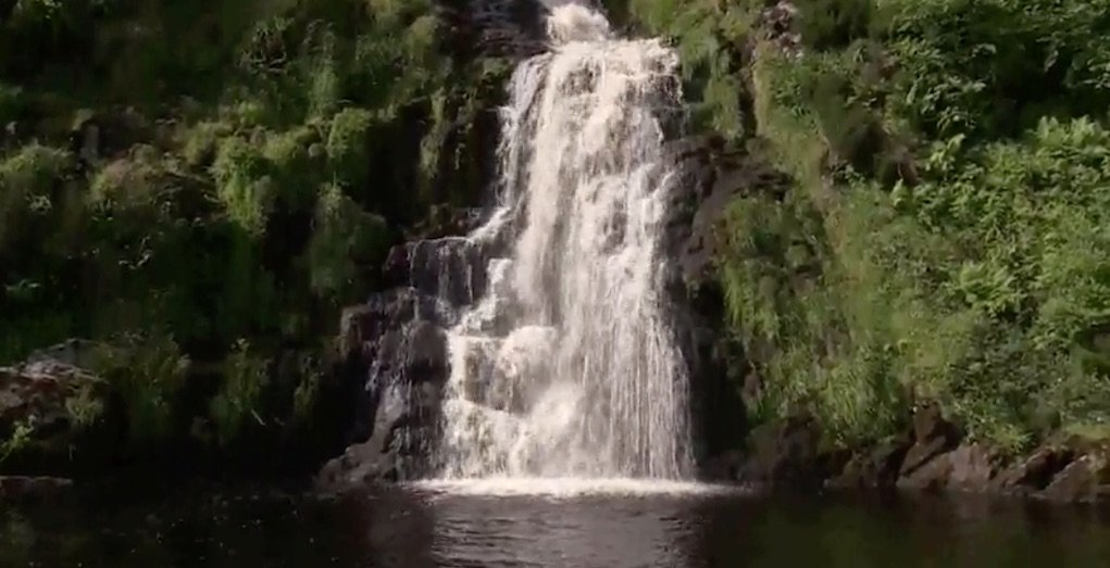 Assarancagh Waterfall Donegal