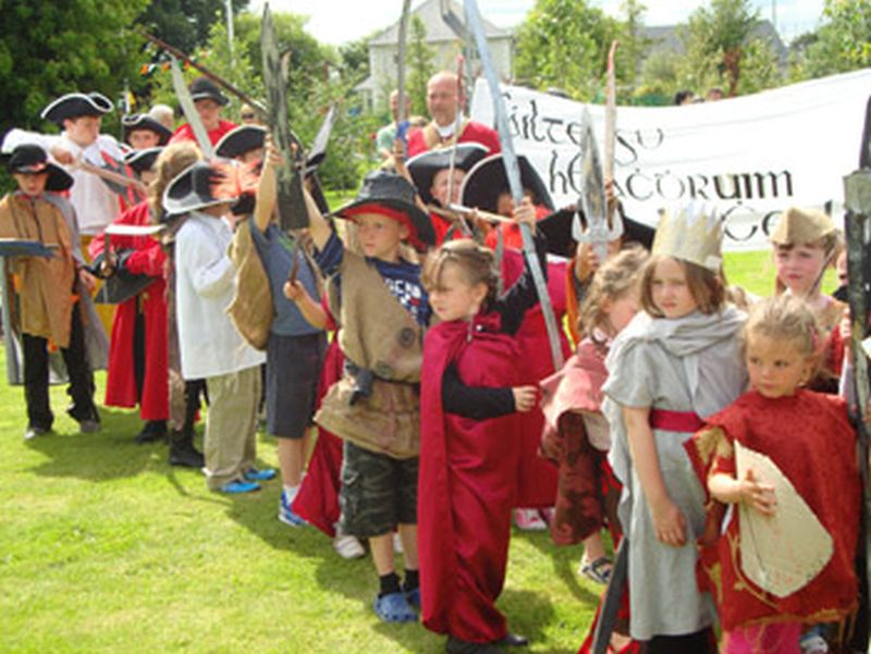 Battle of Aughrim Visitor Centre horrible histories in Ireland