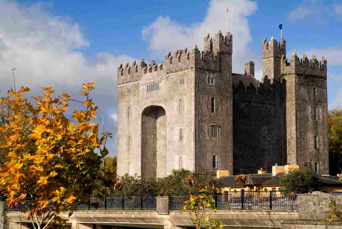 Bunratty Castle for castles in Ireland