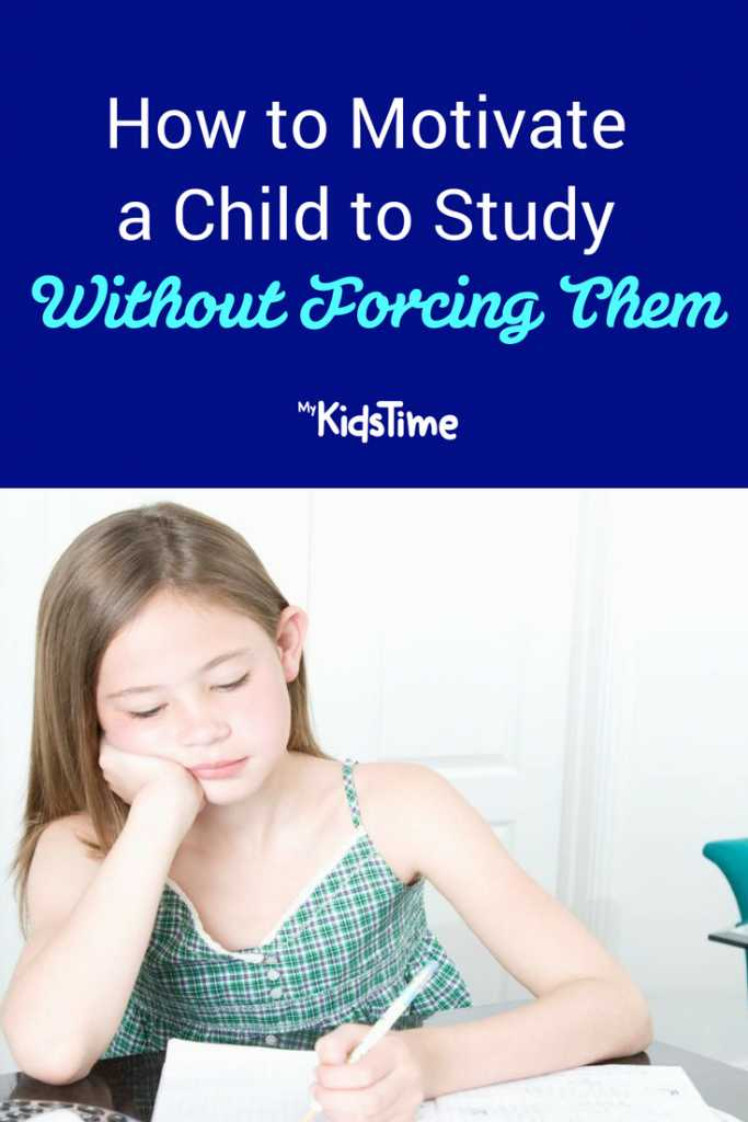 How to Motivate a Child to Study Without Forcing Them