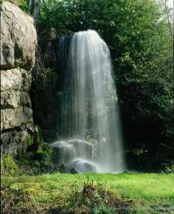 Kilfane waterfall