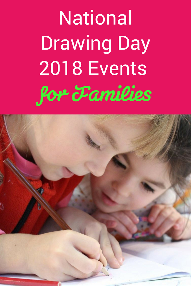 National Drawing Day 2018 Events for Families