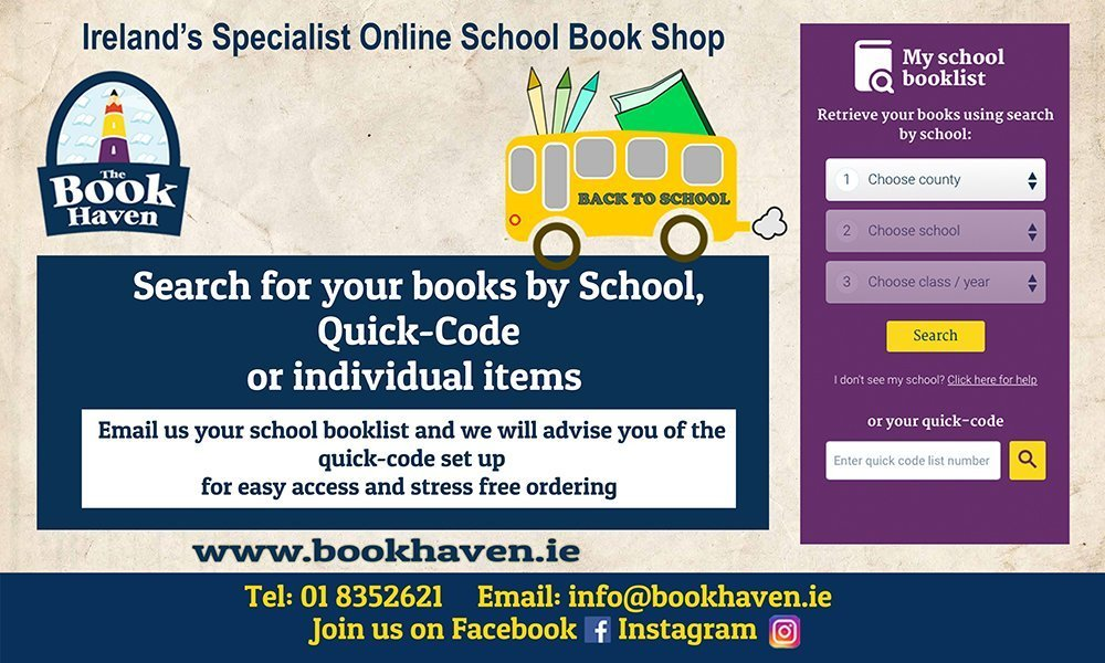 The Book Haven Search for your books by school