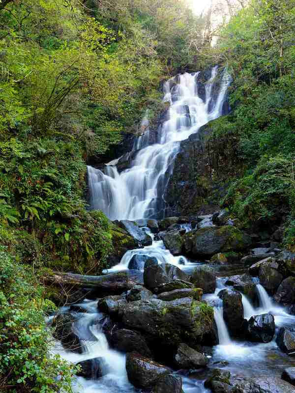 Torc waterfall for waterfalls in Ireland