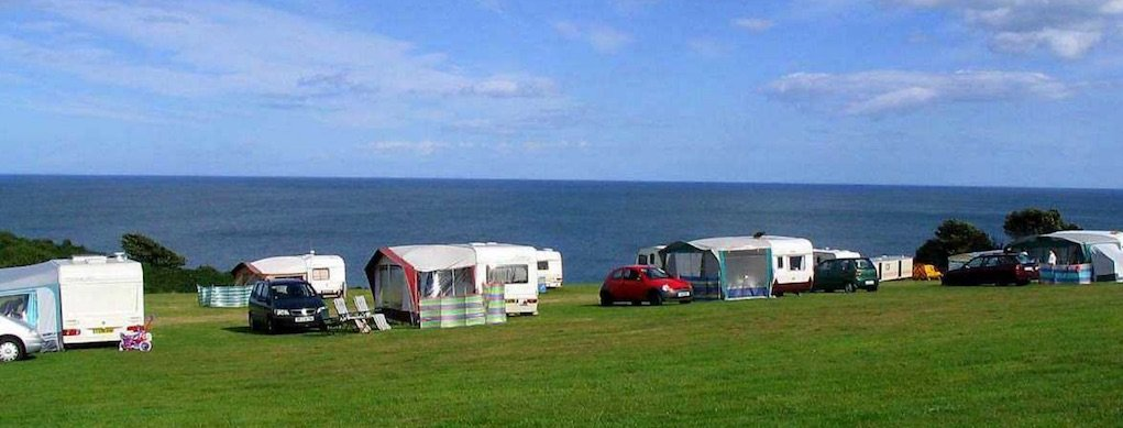 Wolohans Silver Strand Wicklow Campsites in Ireland