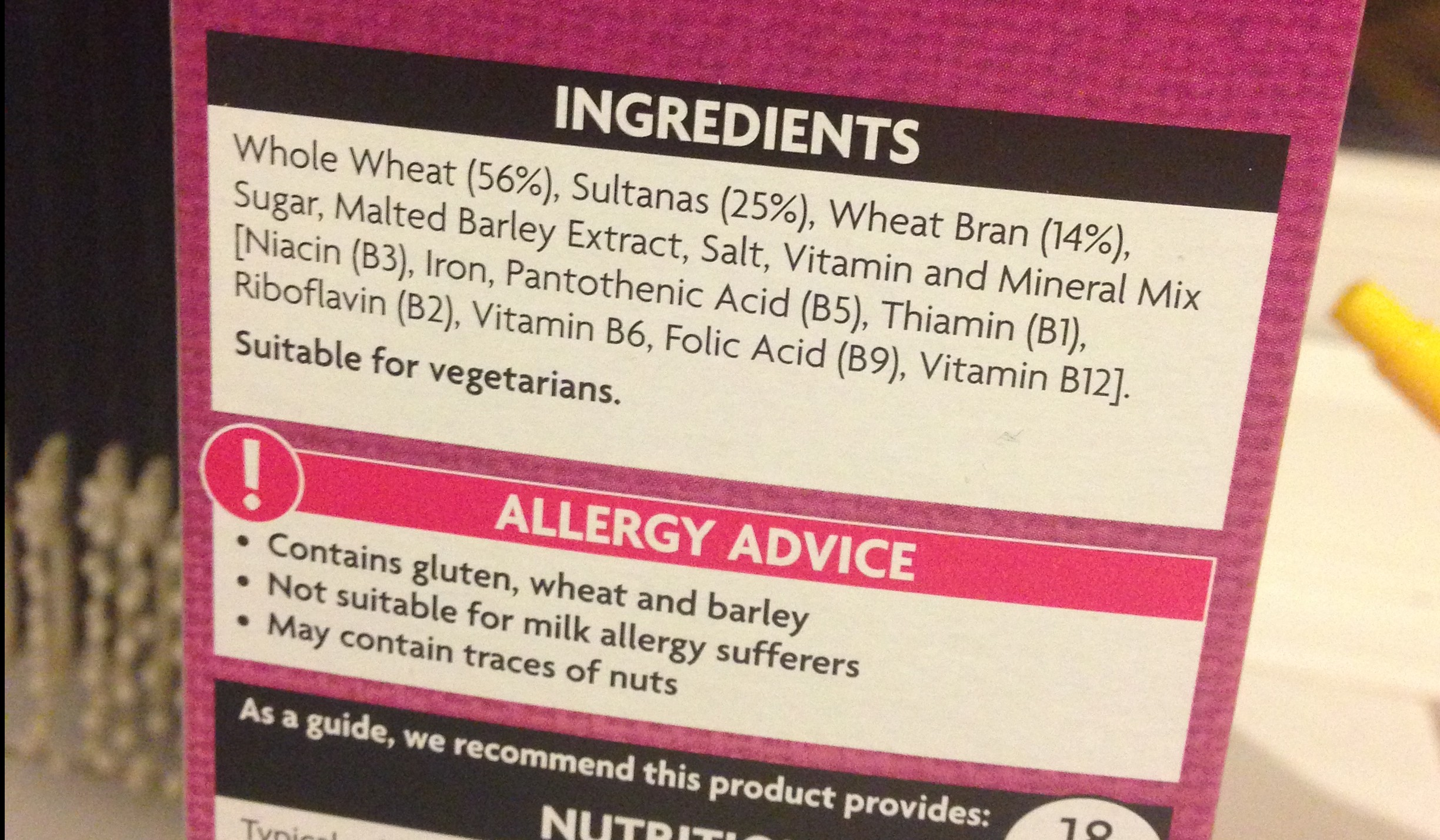 allergy advice gluten free
