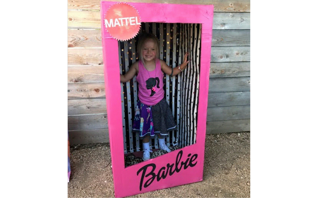 barbie photo booth