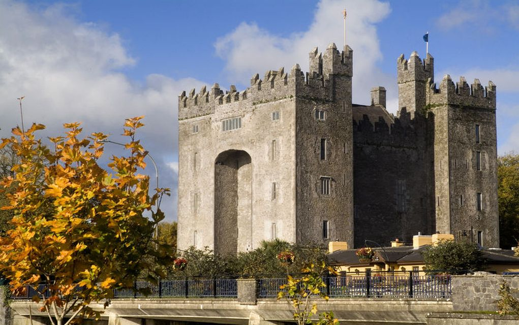 bunratty castle best castles in Ireland