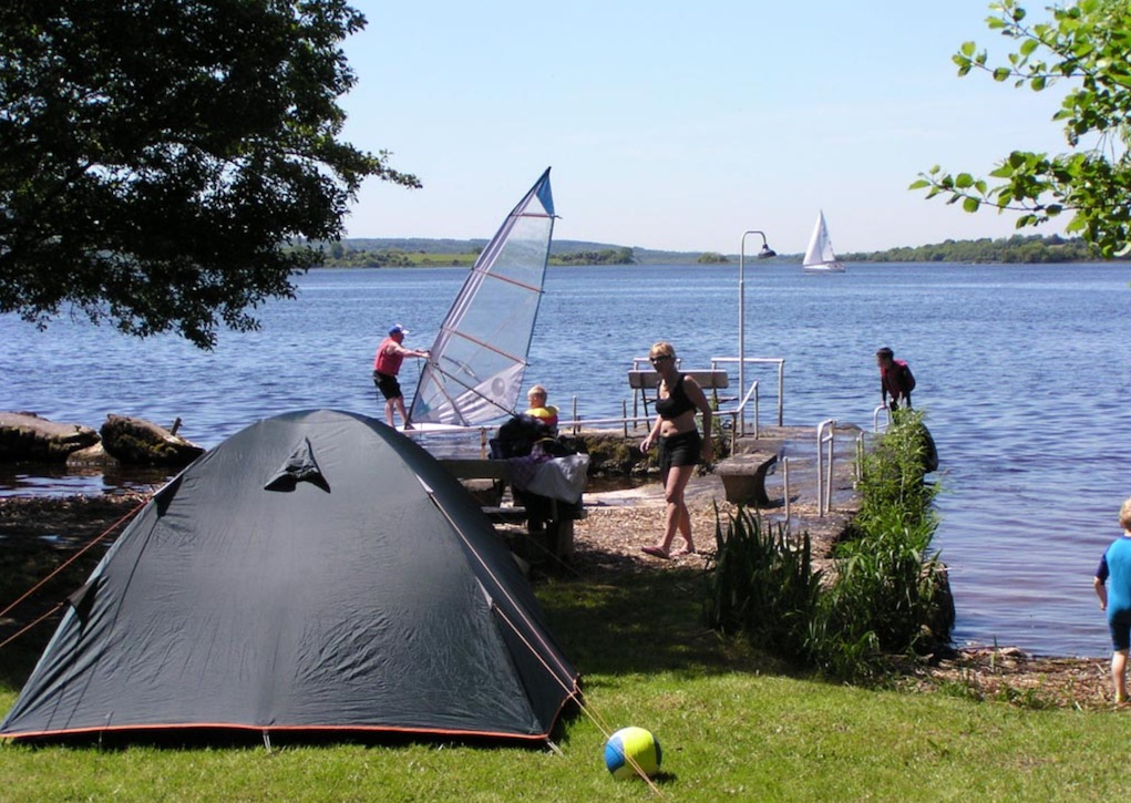 lakeside holiday park campsites in Ireland