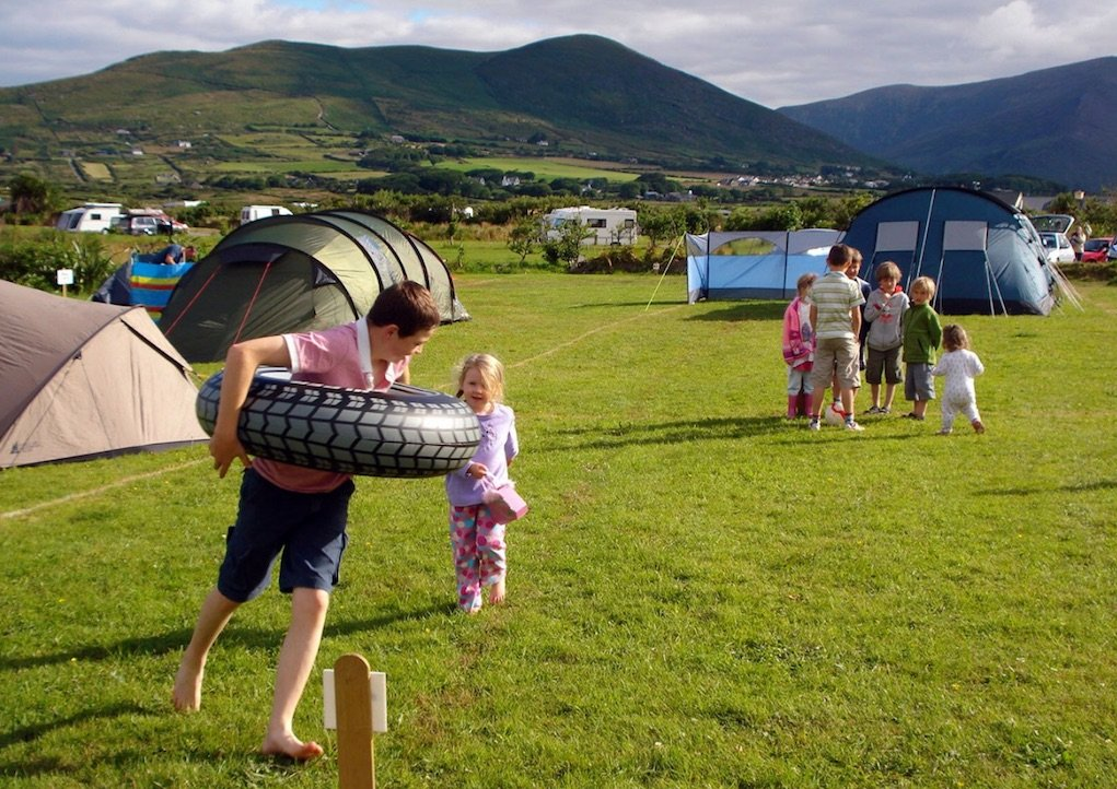 mannix point caravan park and campsite kerry Campsites in Ireland