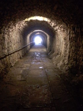 servants tunnels things to do at Lough Key Forest Park