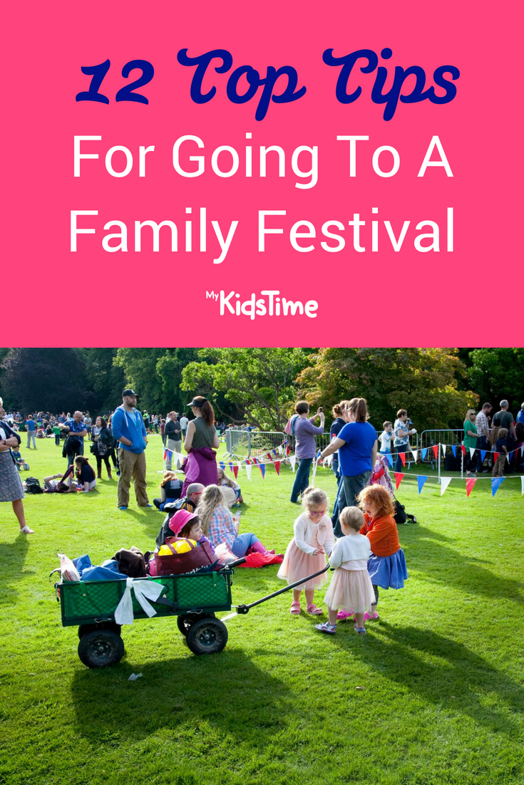 12 Top Tips for Going to a Family Festival