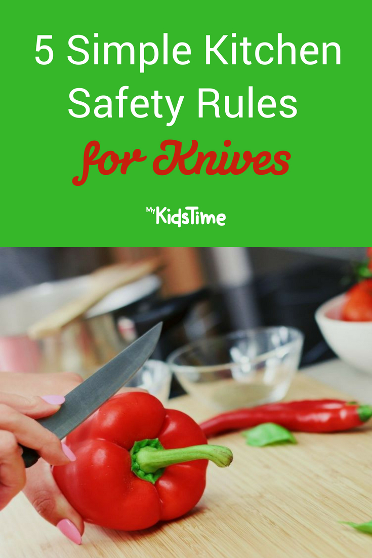 5 simple kitchen safety rules for knives