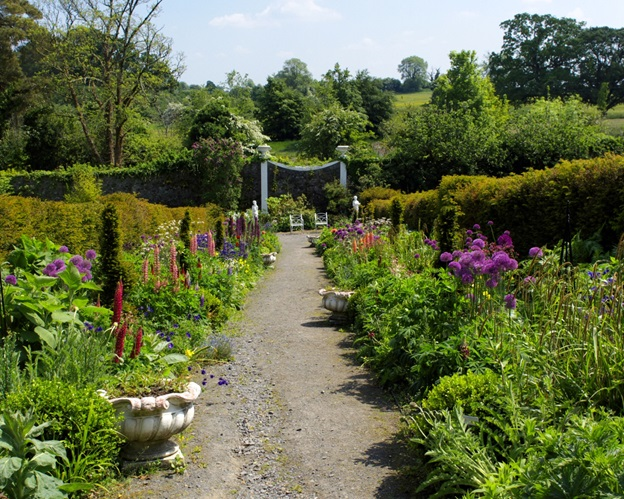 Belvedere House walled garden places for nature education for kids in Ireland