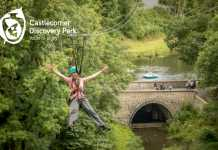 Castlecomer Discovery Park family zip lining