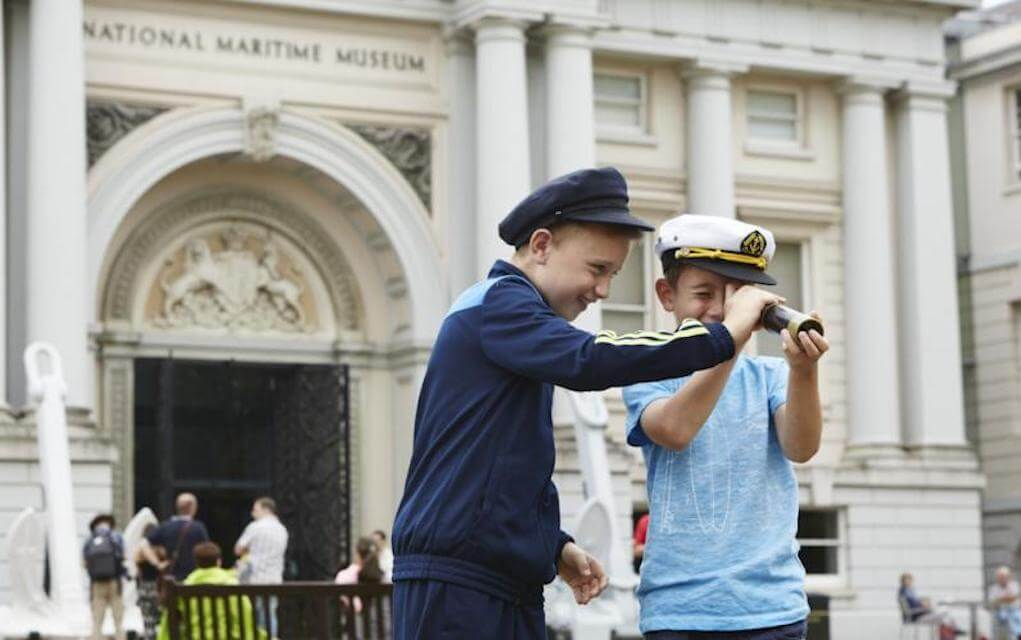 National Maritime Museum for family friendly museum in britain