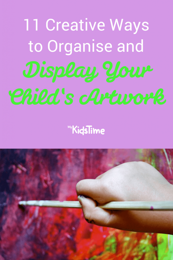 Display your child's artwork
