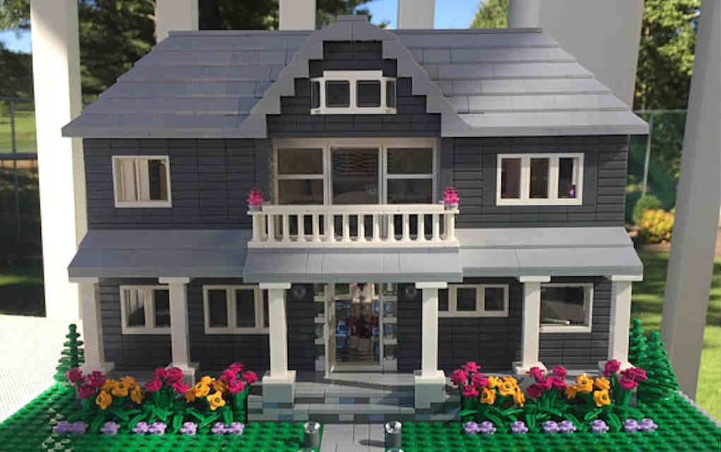 Get A Detailed Lego Model Of Your Own House So Cool
