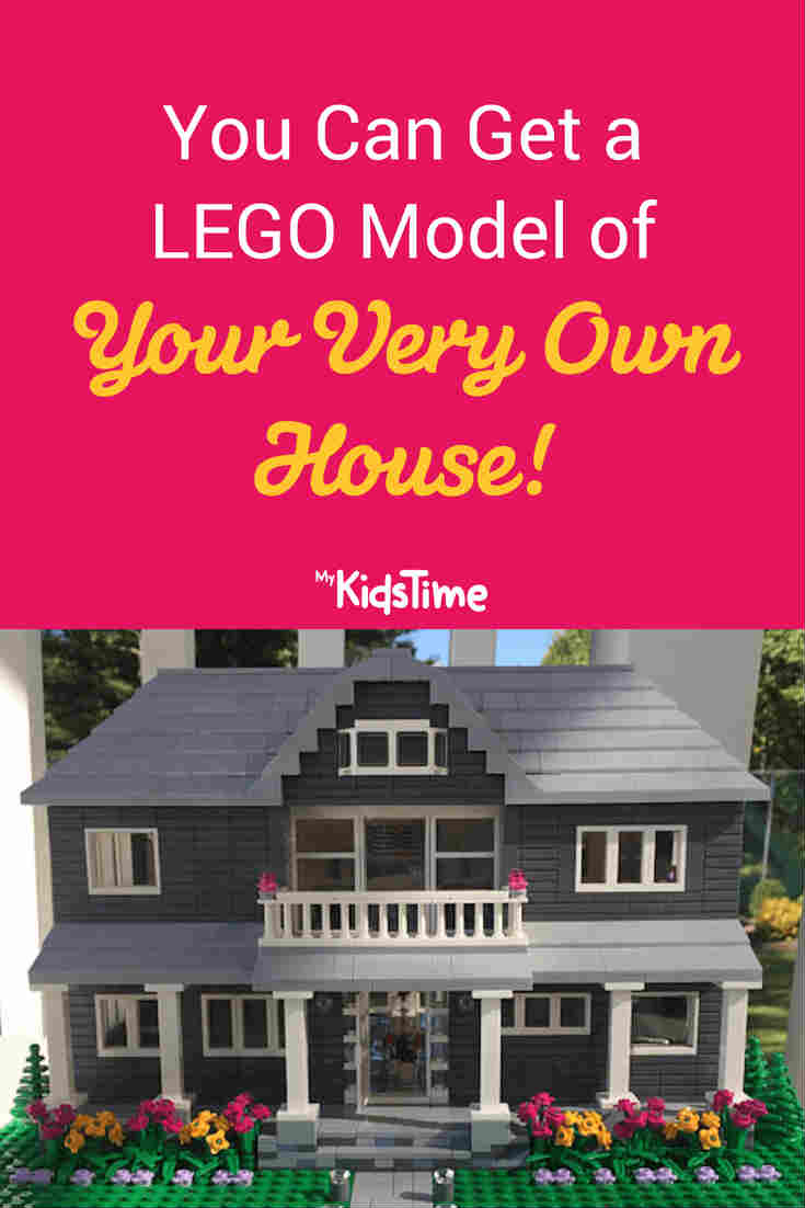 You Can Get a LEGO Model of Your Very Own House - Mykidstime
