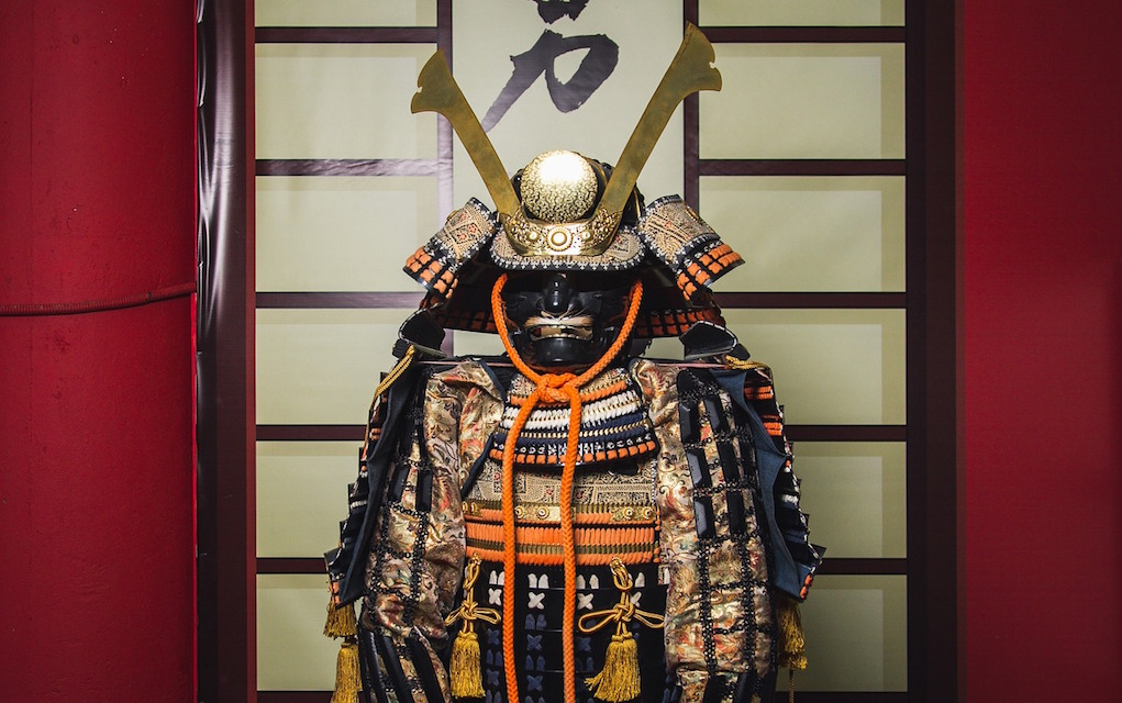 Samurai costume NMI Decorative Arts & Hostory