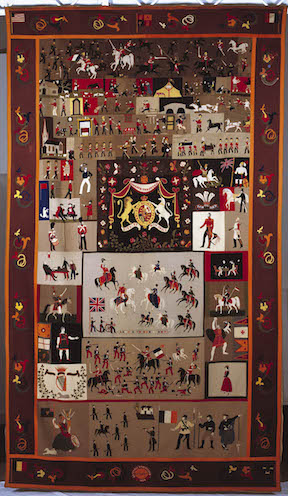 Stokes Tapestry Full NMI Decorative Arts & History