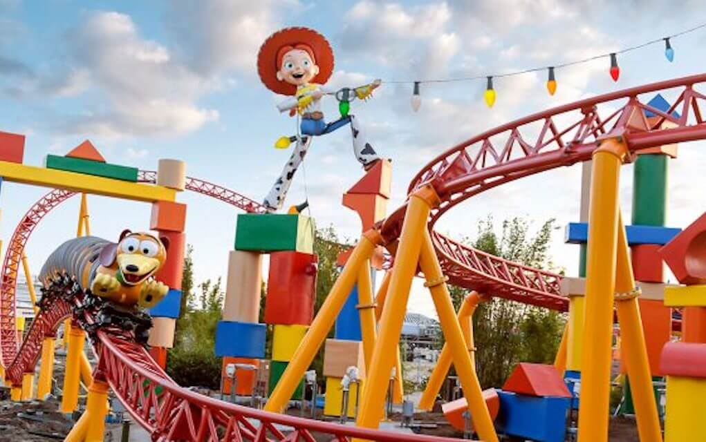 Jessie rollercoaster at Toy Story Land