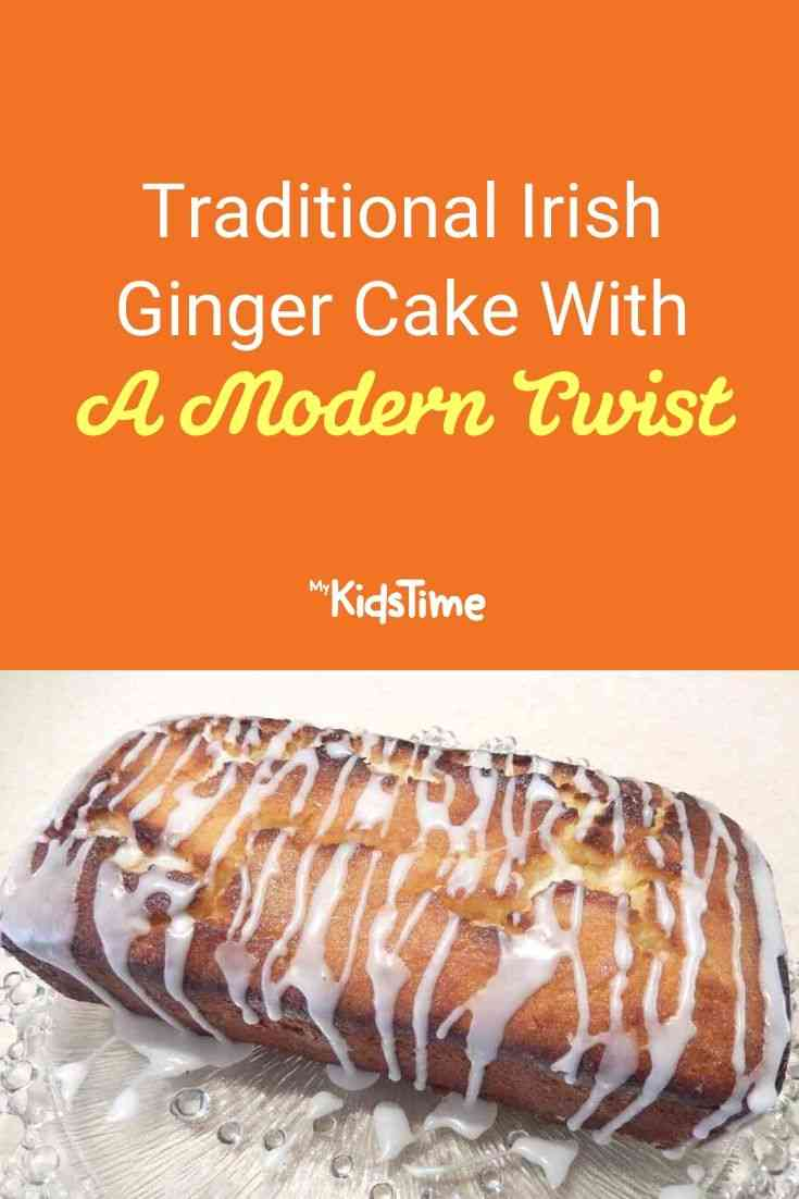 Traditional Irish Ginger Cake With A Modern Twist
