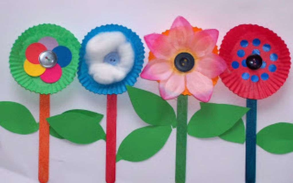 15 Easy Paper Flowers Crafts For Toddlers, Preschoolers and Bigger ...