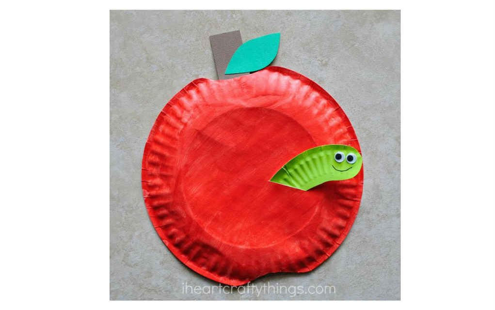 caterpillar paper plate paper craft ideas