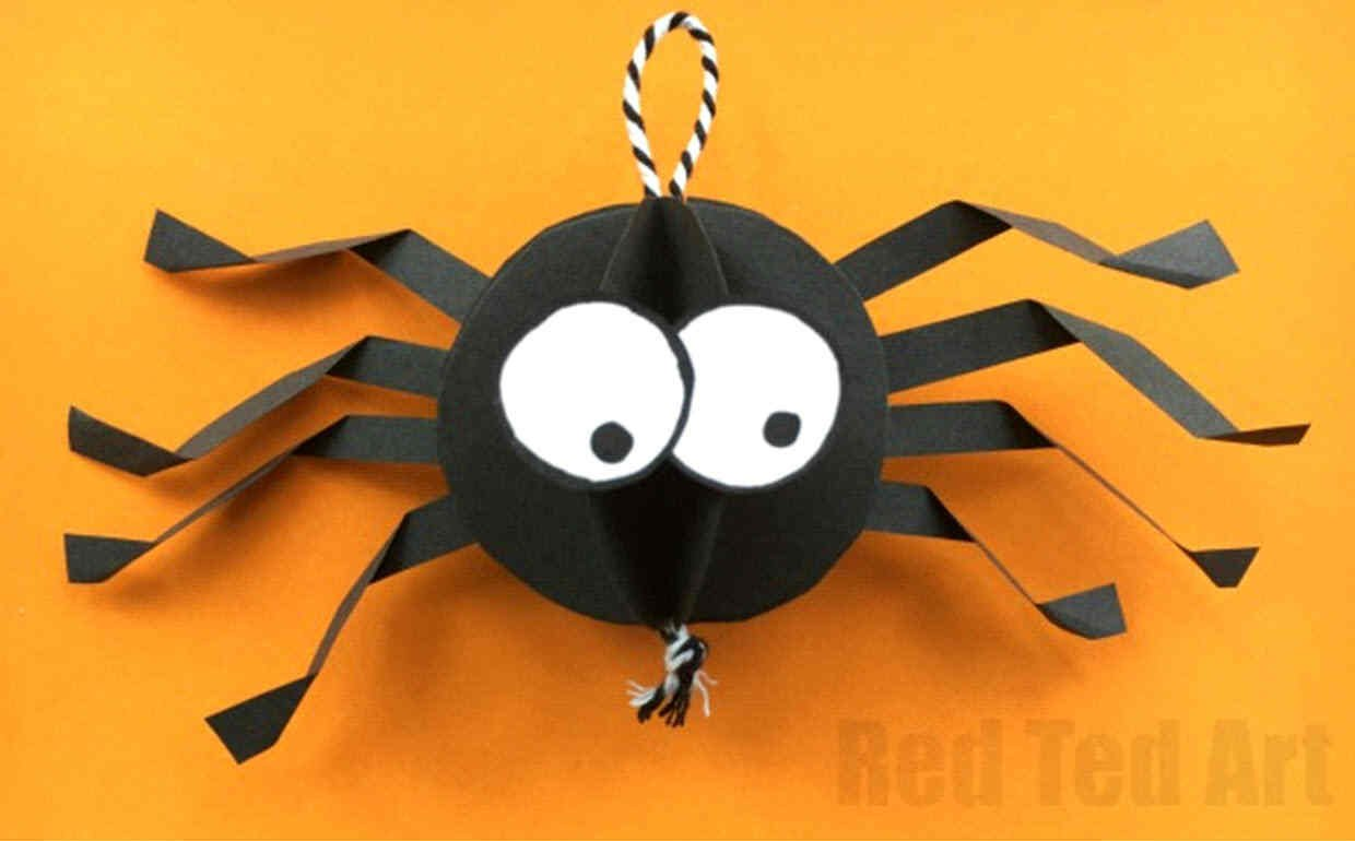incy wincy spider paper craft
