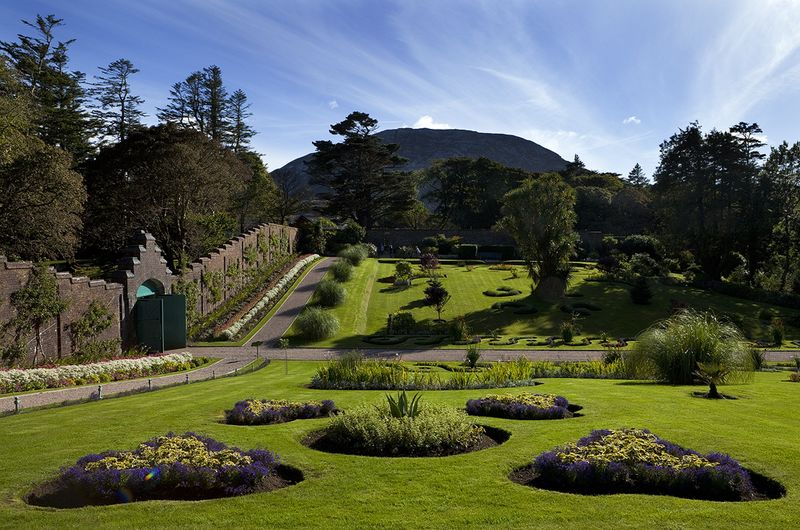 kylemore abbey victorian walled garden