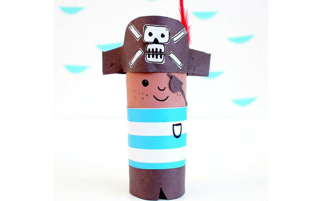 paper craft pirate