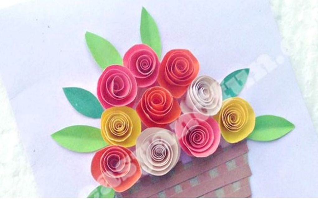 15 easy paper flowers crafts for toddlers preschoolers and bigger kids easy peasy and fun created another easy paper flowers card idea for kids to get creative with it looks pretty difficult to make but youll be pleasantly mightylinksfo