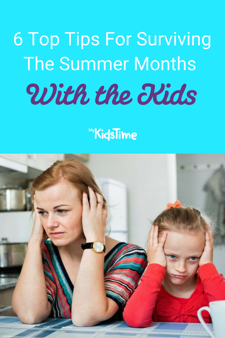 Surviving The Summer Months With the Kids