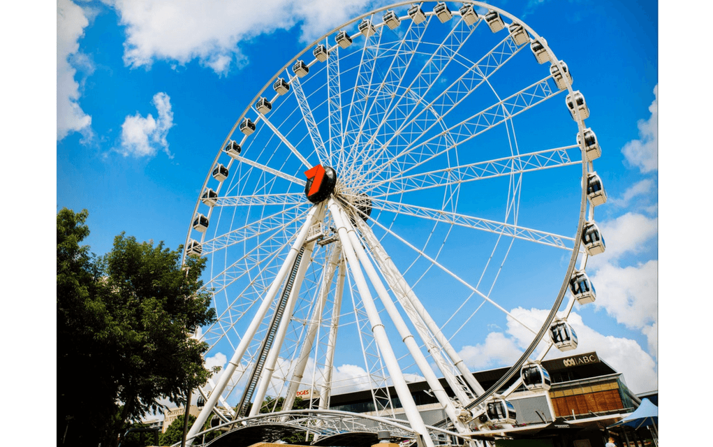 The Wheel of Brisbane for things to do in brisbane