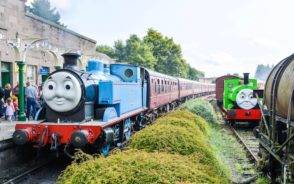 Days out with Thomas for train rides in the uk